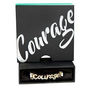 Rustic Cuff Gifters - Courage! Gold!
